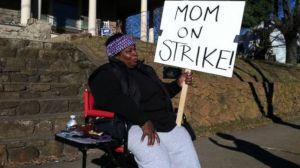 mom on strike