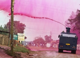 Costly spray: It will cost police Shs 15.8bn to quell riots this FY