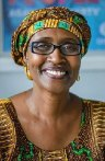 Oxfam's executive director Winnie Byanyima