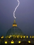 Vatican lightening