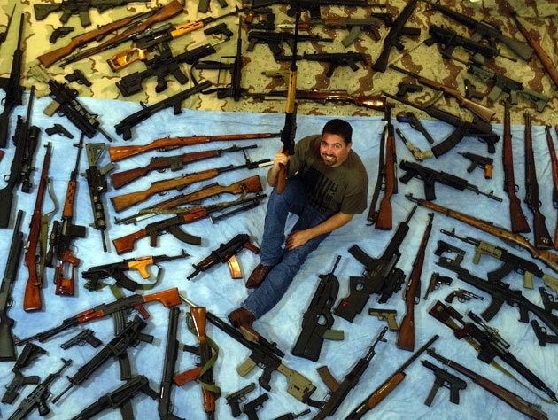 Florida man's massive gun collection gets lots of looks